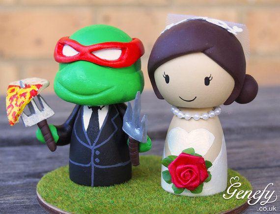 Cute Teenage Mutant Ninja Turtle (Raphael) and Bride ...