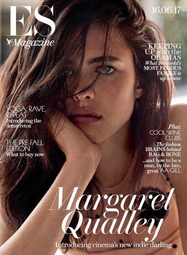MARGARET QUALLEY INTERVIEW FEATURE ES MAGAZINE 16 JUNE 2017 SHIPPING INCLUDED