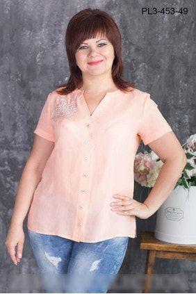 Блуза больших размеров