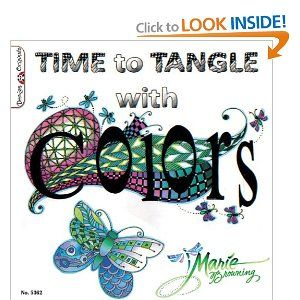 106 best zentangle books images on pinterest zentangle more than simply coloring regions of a tangle design this book offers lessons which enable even the novice artist to use a brush pen to color 48 delightful fandeluxe Image collections