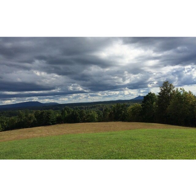 Cloudy Pilot Mountain, NC