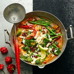 Caribbean vegetable curry - Sainsbury's Magazine