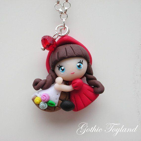 Kawaii Cuties Sweet Little Red Riding Hood by GothicToyland, €15,00