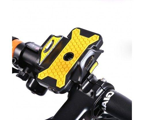 Szalamandra színű univerzális telefontartó kerékpárra - remek telefonos, bringás kiegészítő