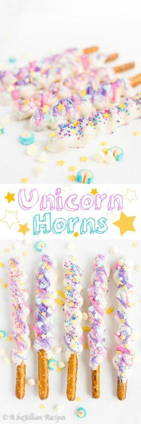 Unicorn Horns   A baJillian Recipes