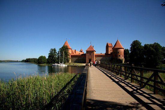 Trakai Island Castle - Trakai, Lithuania
