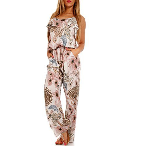 Durchsuchen Sie die neuesten Kollektionen doppelter gutschein online zu verkaufen Damen Jumpsuit Stylisches Strand Overall - Frühling und ...