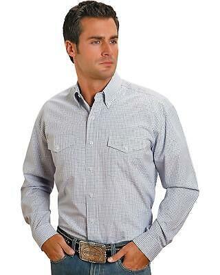Stetson Plaid Check Button Shirt - 11-001-0578-0036BU #fashion #clothing #shoes #accessories #men #mensclothing (ebay link)