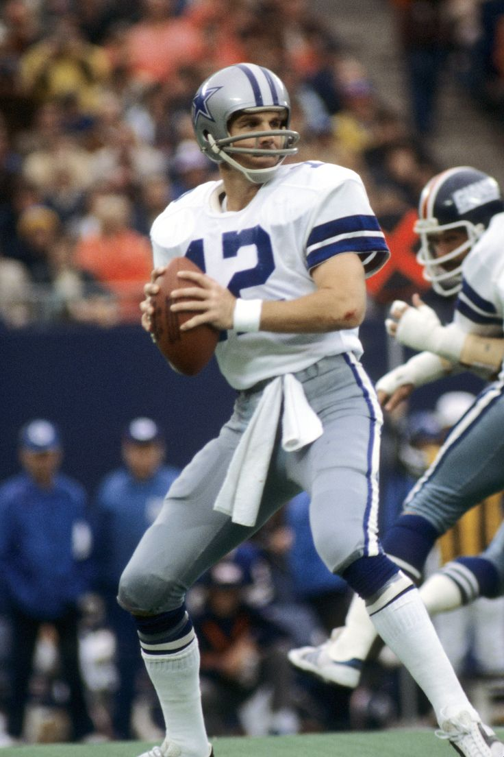 Dallas Cowboys Roger Staubach | Roger Staubach scores again