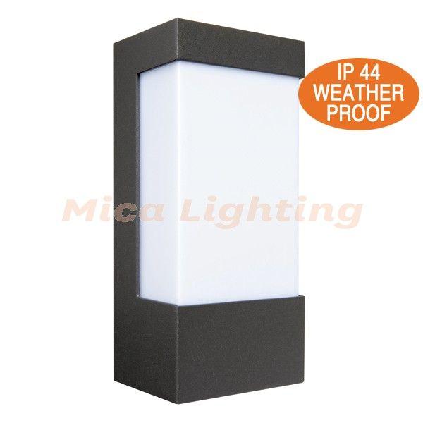 Eave Standard Outdoor Wall Lamp 18049 Brilliant Lighting