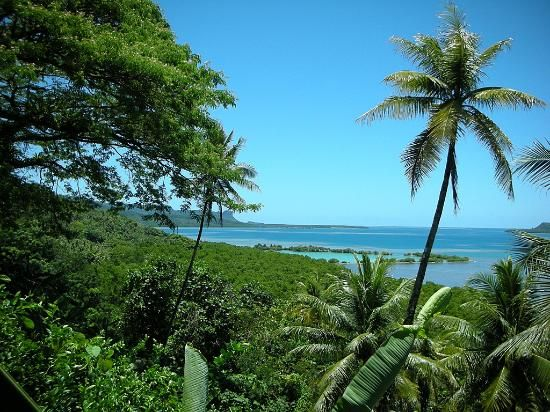 Cliff Rainbow Hotel Pohnpei The Ancient City Picture Of