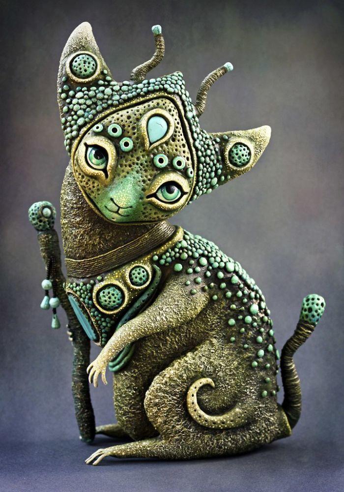 Zyabra Art  Handmade mystical, strange, not like anything and absolutely charming dolls.