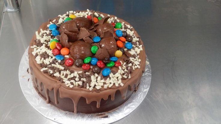 Chocolate Overload Drip Cake decorated by Coast Cakes Ltd