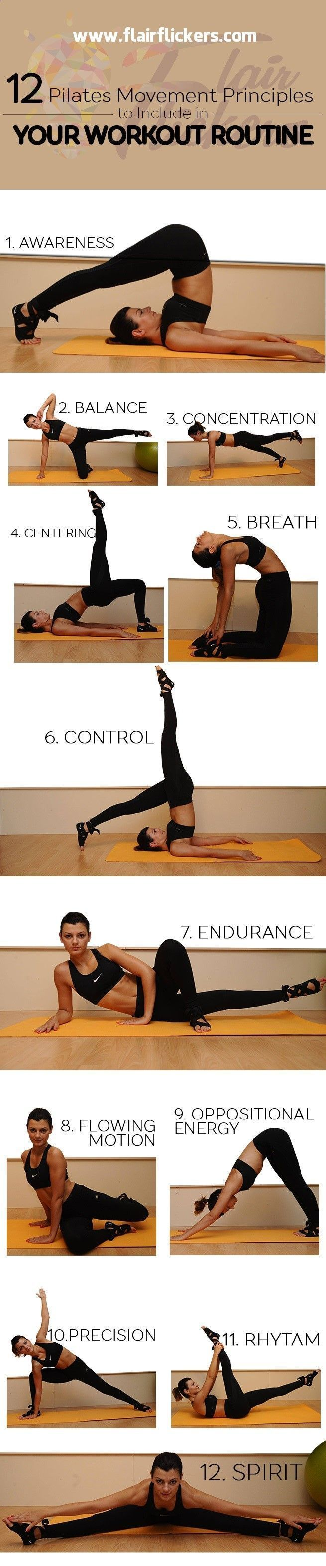 12 Pilates Movement Principles To Include in Your Workout Routine Posted By NewHowToLoseBellyFat