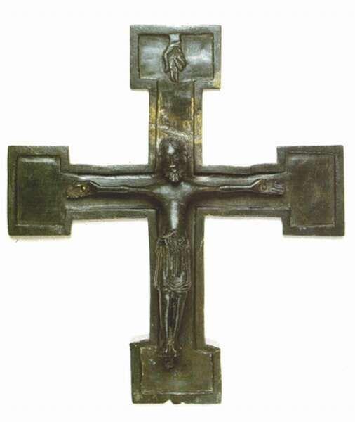 A procession cross from Dunaszentmiklós (the second half of the 12th century)  Mikó Árpád-Takács Imre (szerk.): Pannonia Regia. Művészet a Dunántúlon 1000-1541. Magyar Nemzeti Galéria, Budapest, 1994. Kiállítási katalógus. II-18. p 201  Hungarian National Museum, Budapest