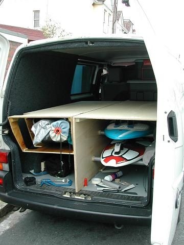My Van With Hinged Partition Camper Pinterest Cars