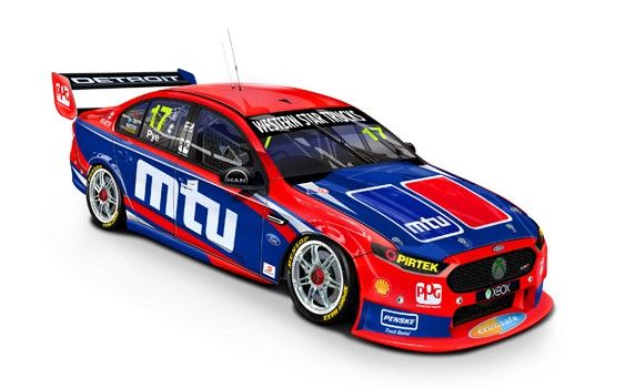 1:18 Scale. Scott Pye #17 2015 DJR Team Penske MTU Ford FG X Barbagallo Round. This model is a sealed body diecast it has no opening parts  Limited Edition of TBA.  SRP: $160.00 Also available in 1:43 scale