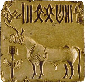 Harappa and Mohenjo-Daro - mrdowling.com The writing found here is very similar to that found on Easter Island!
