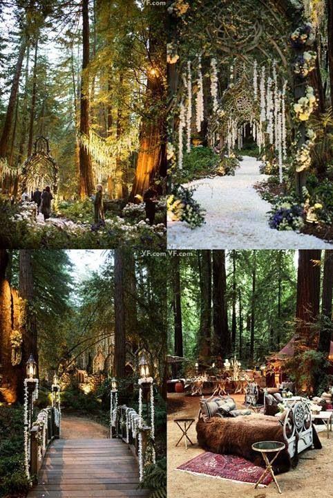 Attractive Wedding Philippines   Whimsical Fairytale Forest Woodland Wedding Ideas    Decor 04