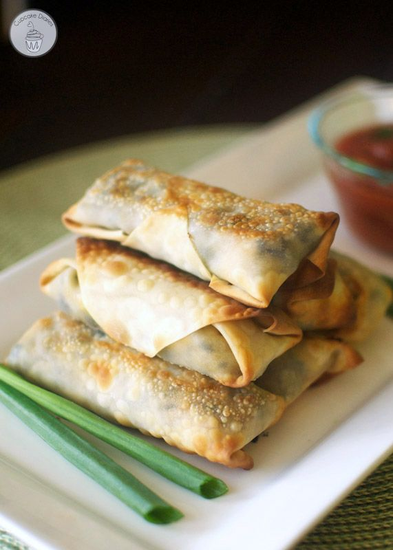 Baked Southwestern Egg Rolls These Egg Rolls Taste Like They Came Out Of A Restaurant