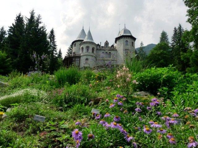 Gressoney-Saint-Jean (Valle d'Aosta) - Giardino botanico di Castel Savoia