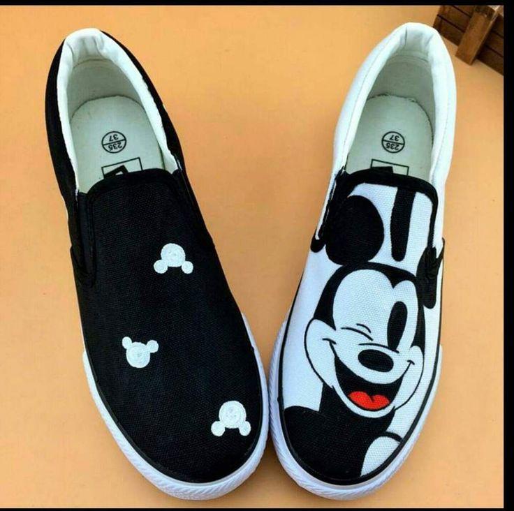 Lona das mulheres sapatos de embrulho pé sapatos pintados à mão personalizado   menina urso cinzento planas sapatos baixos grafite muscular vaca confortável em Mulheres ' s sapatos casuais de Sapatos no AliExpress.com | Alibaba Group