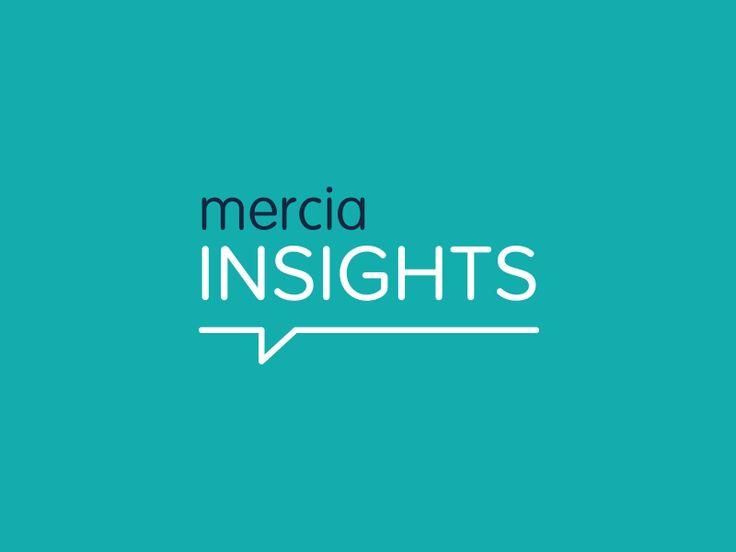Branding concept for Mercia Insights.  #branding #logo #brandidentity
