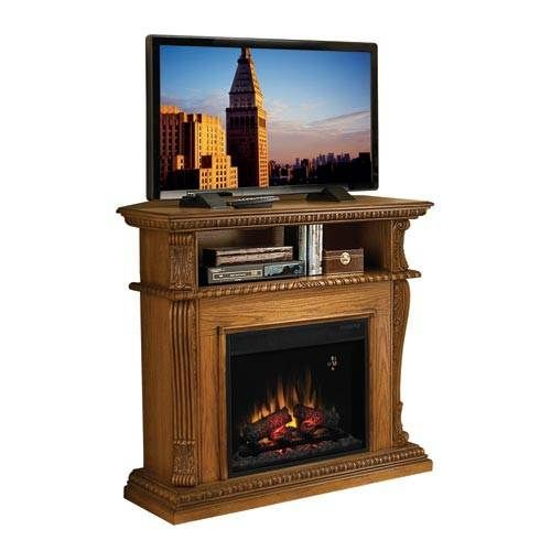 Classic Flame Corinth Electric Fireplace Entertainment Center