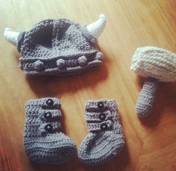 Hey, I found this really awesome Etsy listing at http://www.etsy.com/listing/155400437/thor-baby-set
