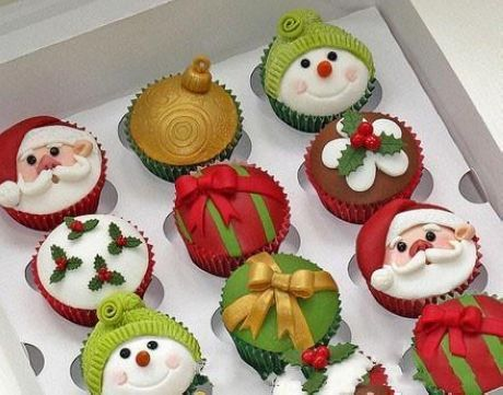 Christmas themed desserts