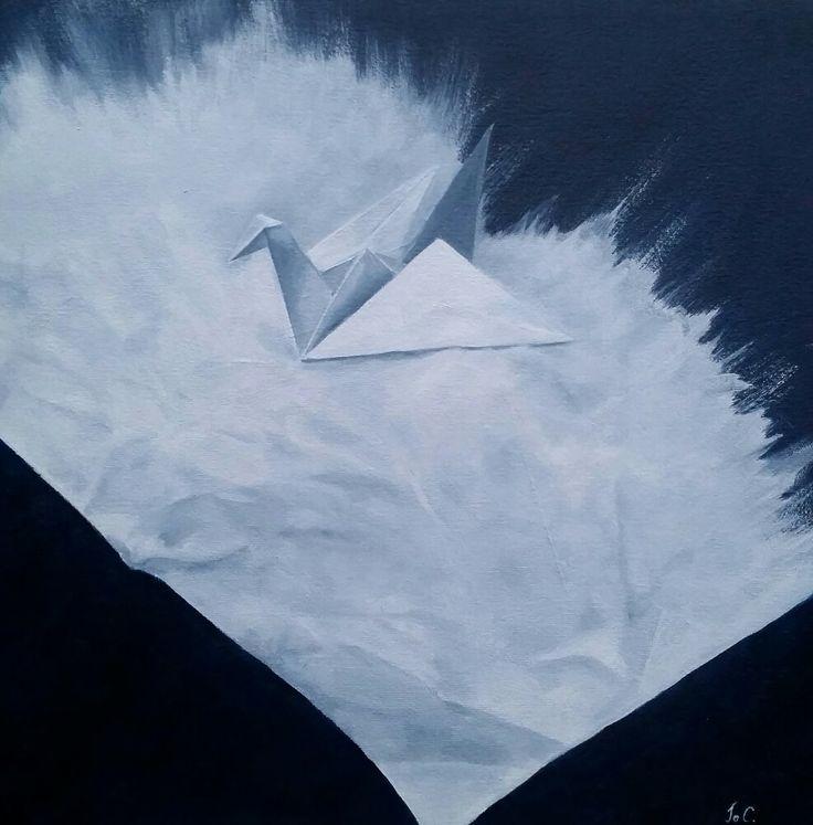 Tonal study in white by Jo Cooke