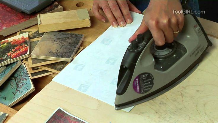 ToolGirl Mag Ruffman - Transferring Photo Images to Wood via Youtube