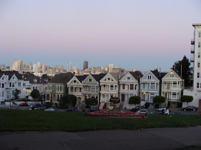 Alamo Square, San Francisco #photography #alamosq