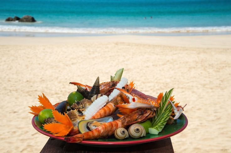 Enjoy some of the freshest seafood in Ngapali Beach, Myanmar.  Early every morning, the local fishermen set out to catch that days feast.  Make sure to try the lobster's, a speciality in Ngapali Beach.