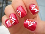 canada day nails - Google Search