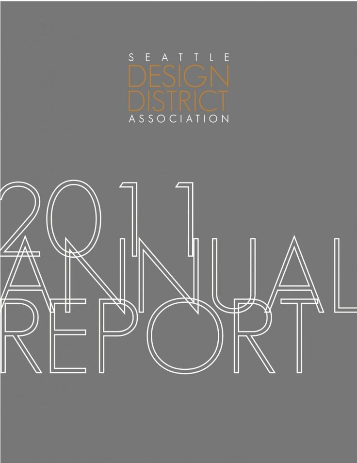 financial report cover