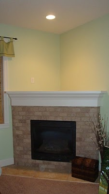 Building a corner fireplace mantel woodworking projects for Building a corner fireplace