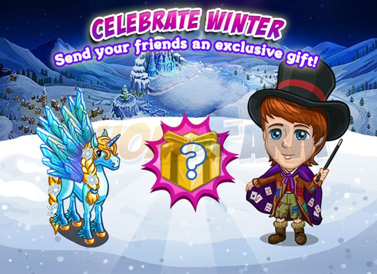 Once Upon a Winter: Neighbor Gifting #1 tempo stimato per la lettura di questo articolo 1 minuti  Siete vicini generosi? Generosi e provvisti di FV Cash ? Se la risposta è sì il nuovo Neighbor Gifing fa al caso vostro!Regalate ad un amico un Frozen Queen Pegacorna 5 FVCASH.  Riceverete in cambio un Frost Fruit Pegasus  Possiamo scegliere traTUTTIi nostri contatti la persona o le persone a cui inviare il regalo.Utilizzando lafreccia lateralescorreremo le pagine fino ad esaurirelelenco…