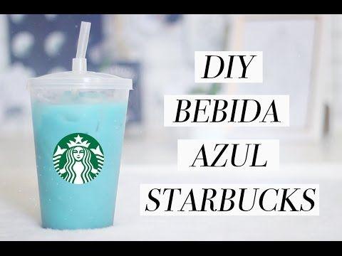 COMO FAZER BEBIDA AZUL STARBUCKS // RECEITA // NOVEMBRO AZUL - YouTube