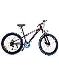 "Iglobalbuy 26"" Disc Brake Mountain Bike Fahrrad LED Batterie Licht 21 Geschwindigkeit"