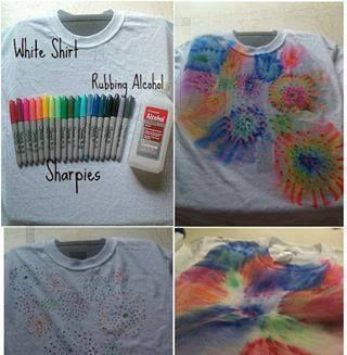 Sharpie Shirts - get creative!