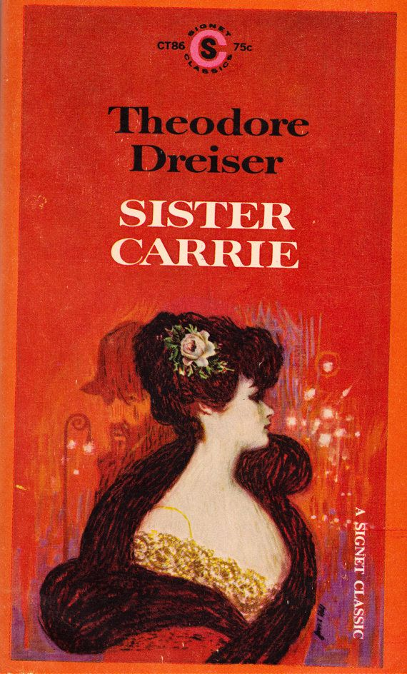 Sister Carrie by Theodore Dreiser by ElwoodAndEloise on Etsy
