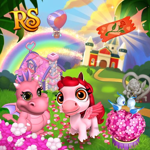 Cuteness Overload! Make your Kingdom pink and lovely in Royal Story! <3 #royalstorygame #royalvalentines