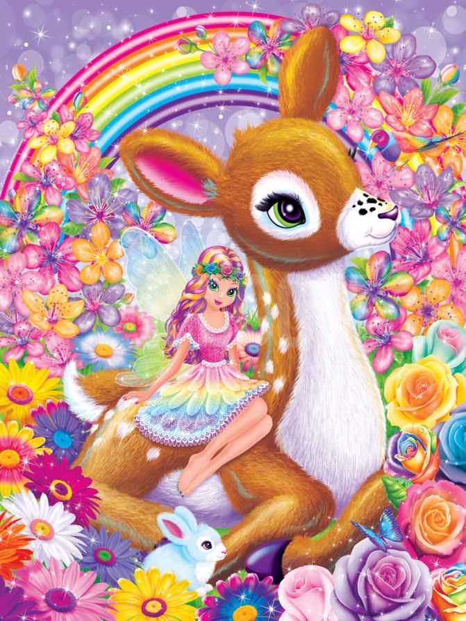 Elsu and Rosa Art Print by Lisa Frank at Art.com