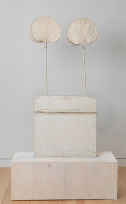 Cy Twombly, untitled (funerary box for a lime green python) 1954