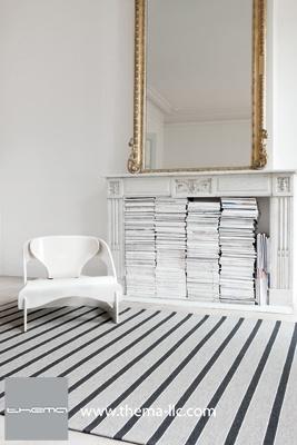 TRIBU-ZEN floor rug