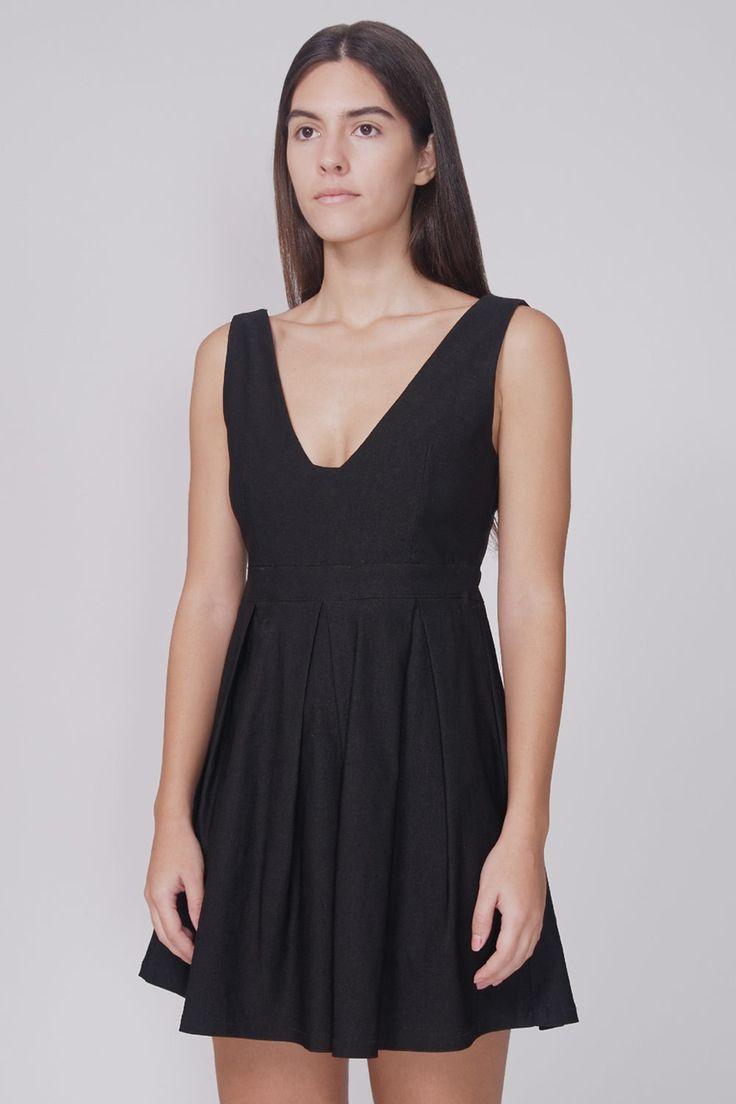 KLING - VANITY DRESS FRONT #cute #dress #black