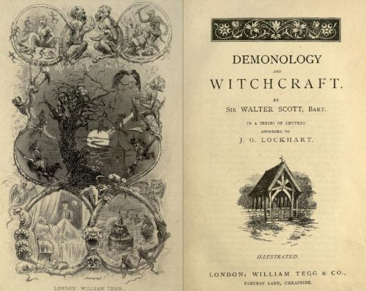 mirroir:    Demonology and Witchcraft by Sir Walter Scott, Bart. ; in a series of letters addressed to J.G. Lockhart.