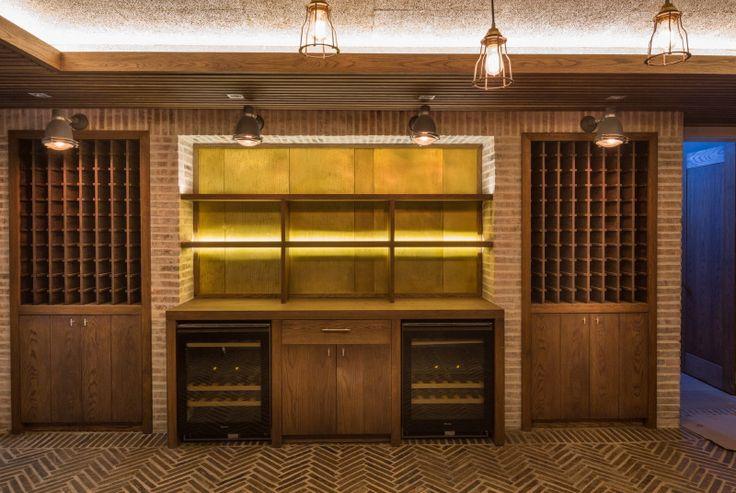 Voëlhuis - brass bar