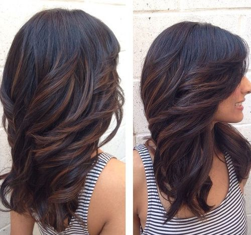 Long Hairstyles With Layers Extraordinary 41 Best Hair Styles Images On Pinterest  Layered Hairstyles